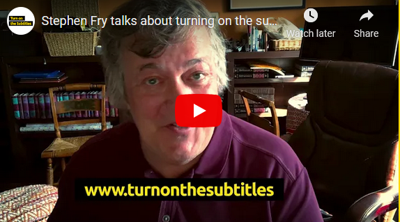 Stephen Fry TOTS Campaign